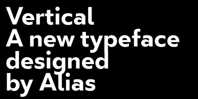 Vertical Font Family