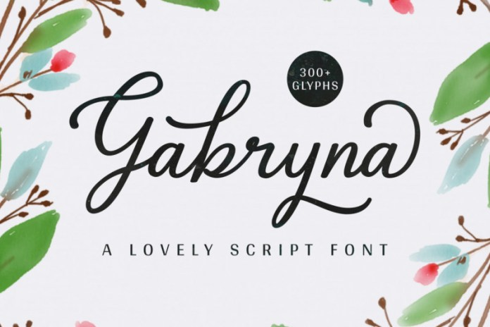 Gabryna FontScript Font
