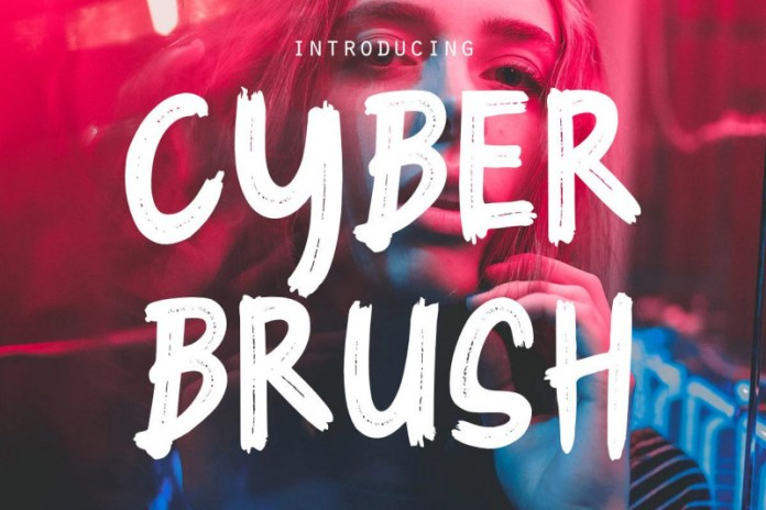 Cyber BrushOther Font