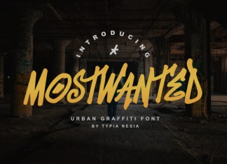 MostWanted Graffiti Font