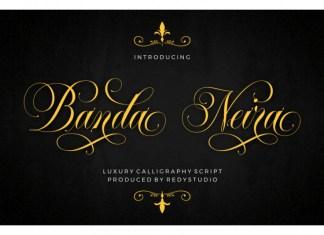 Banda Neira Script Font