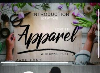 Apparel Font