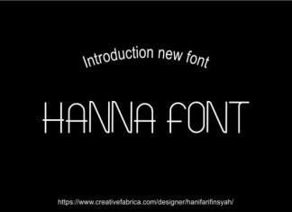 Hanna Font