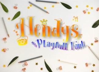 Hendys Font