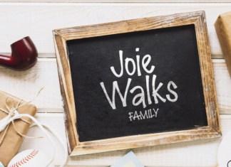 Joie Walks Font