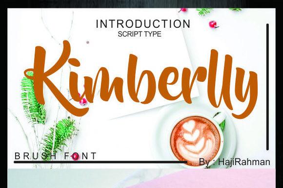 Kimberlly Font