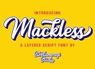 Mackless Font