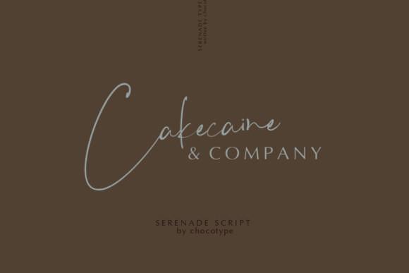 Serenade Script Font