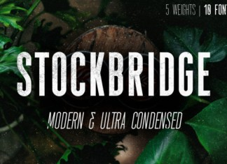 Stockbridge font