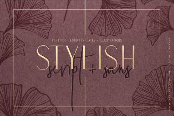 Stylish Duo Font