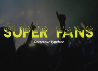 Super Fans Font