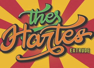 The Hartes Font