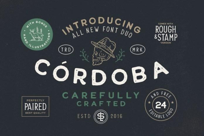 Cordoba - Font Duo