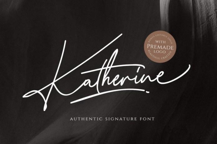 Katherine Script Font