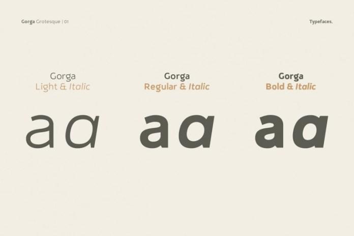 Gorga Grotesque Font