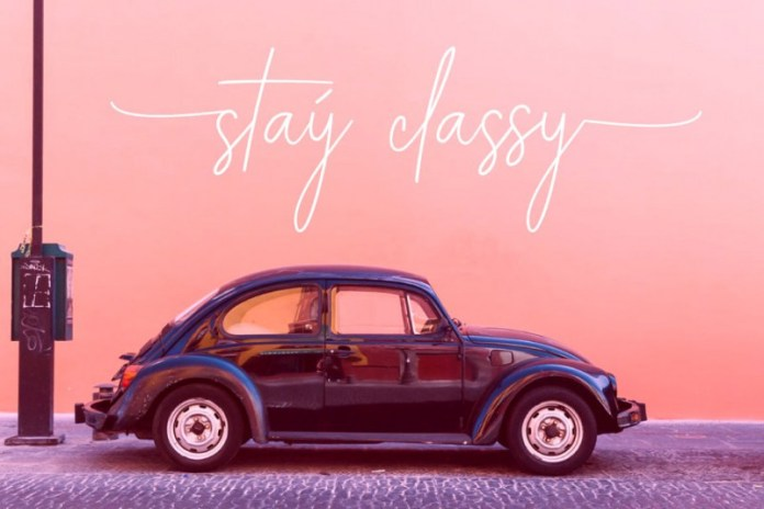 ALEXANDER LETTERING | Stay Classic