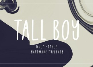 Tall Boy | Handwriting Font