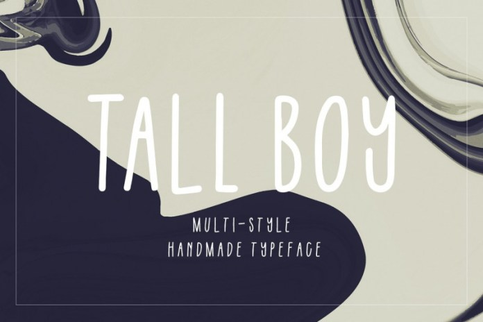 Tall Boy | Handwriting Font