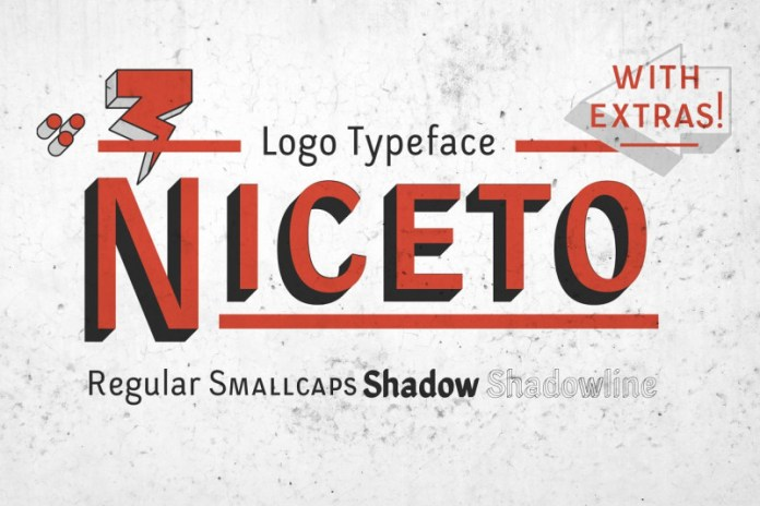 Niceto Typeface Font