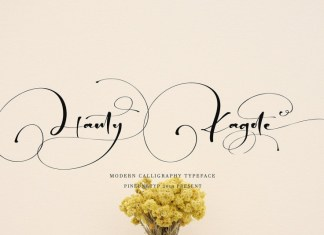 Hanty Kagote Font