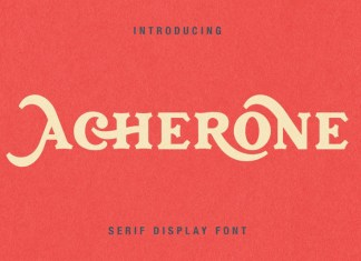 Acherone - Serif Display Font