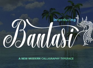 Bantasi Script Font