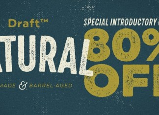 Draft Natural Font Family