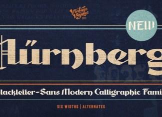 Nurnberg Font Family