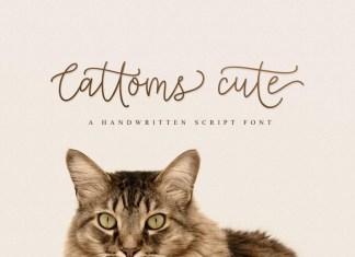 Cattoms Cute Script