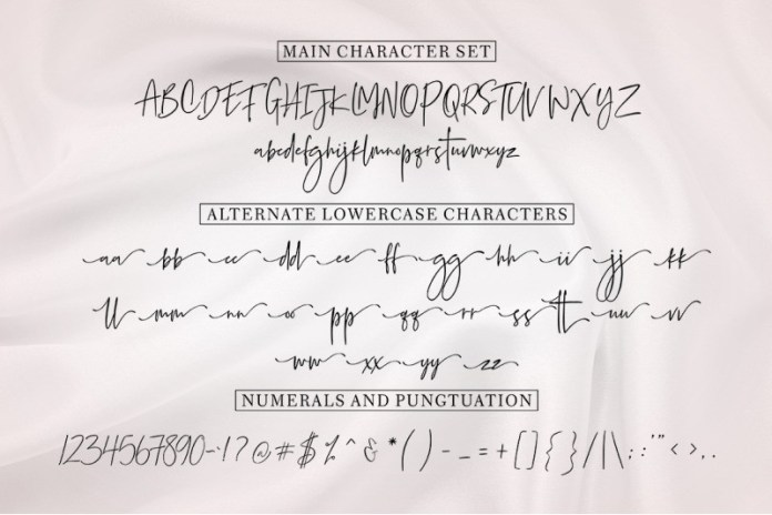 Gambia Signature Font Family