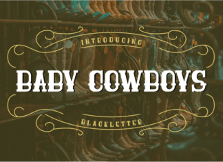 Baby Cowboys Font