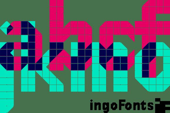 DeDisplay Font
