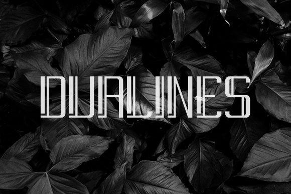 Dualines Font