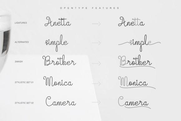Evangetta Font