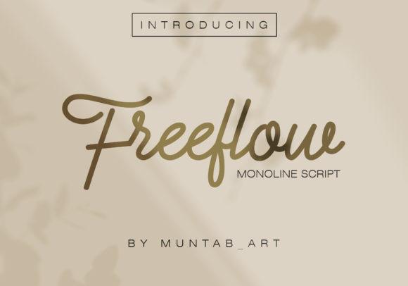 Freeflow Font