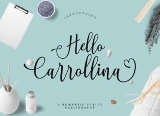 Hello Carrollina Font