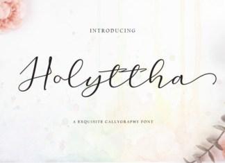 Holyttha Font