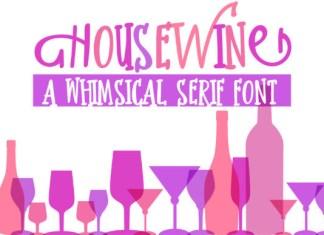Housewine Font
