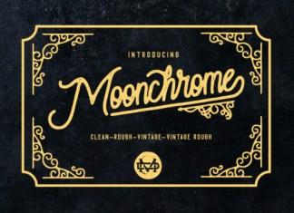 Moonchrome Font