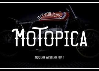 Motopica Font