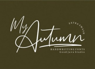 My Autumn Font