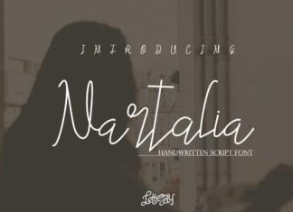 Nartalia Font