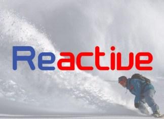 Reactive  Sans Serif Font