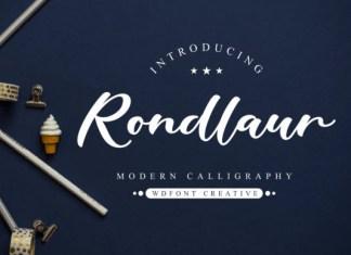 Rondlaur Font