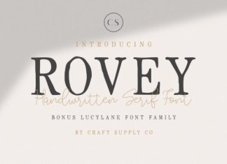 Rovey Duo Font