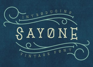 Sayone Font