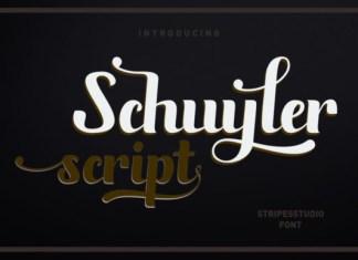 Schuyler Script Font