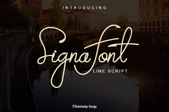 Signa Font