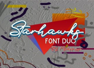 Starhawks Duo Font