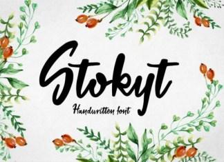 Stokyt Font